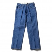 WESTOVERALLS-5 POCKET DENIM TROUSERS 817F - One Wash
