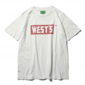 WESTOVERALLS-WESTS T-SHIRTS - White : Red