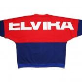 ELVIRA-2TONE DOLMAN CREW - Red × Blue