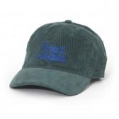 WIND AND SEA-CORDUROY CAP - Green