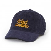 WIND AND SEA-CORDUROY CAP - Navy