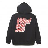 WIND AND SEA-PULLOVER SWEAT K - Black