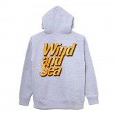 WIND AND SEA-PULLOVER SWEAT K - Gray