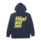 WIND AND SEA-PULLOVER SWEAT K - Navy