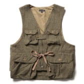 ENGINEERED-GARMENTS-Game-Vest-Gunclub-Check-TanGreen-168x168