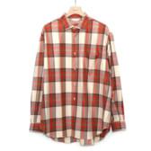 WELLDER-WELLDER-Standard-Shirt-Beige-×-Red-168x168