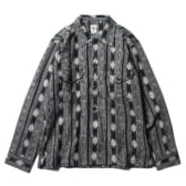 South2-West8-Smokey-Shirt-Cotton-Cloth-Ikat-Pattern-Black-168x168