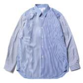 COMME-des-GARÇONS-SHIRT-cotton-poplin-plain-Stripe-Mix2_b-168x168
