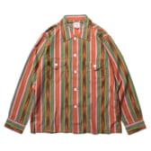 South2-West8-Smokey-Shirt-Cotton-Cloth-Ikat-Pattern-BrnGrnPnk-168x168