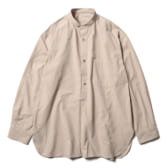 URU-STAND-COLLAR-LS-SHIRTS-COTTON-PIN-WEATHER-Brown-168x168