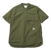 and-wander-CORDURA-typewriter-short-sleeve-over-shirt-M-Khaki-168x168