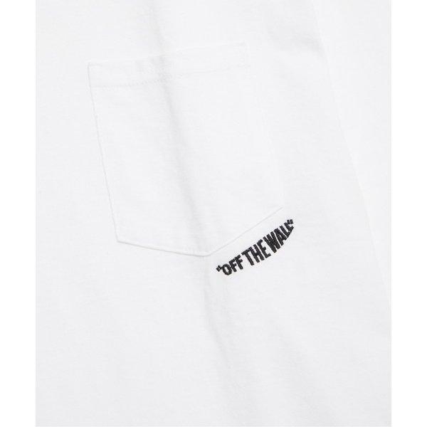 N.HOOLYWOOD / エヌハリウッド 通販 1201-CS37-089-pieces VANS LONG SLEEVE T-SHIRT - White