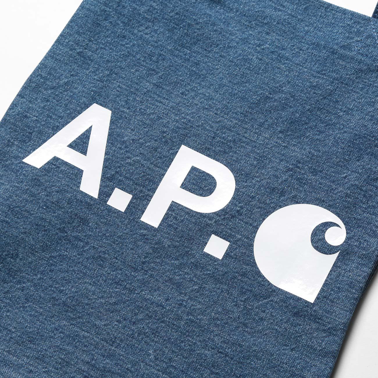 A.P.C. / アーペーセー Carhartt トートバッグ - Washed Indigo