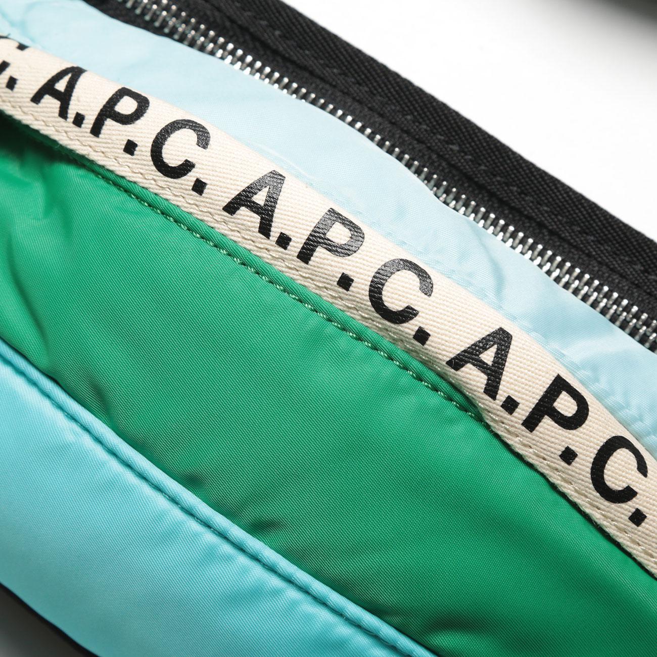 A.P.C. / アーペーセー Repeat ヒップバッグ - Green