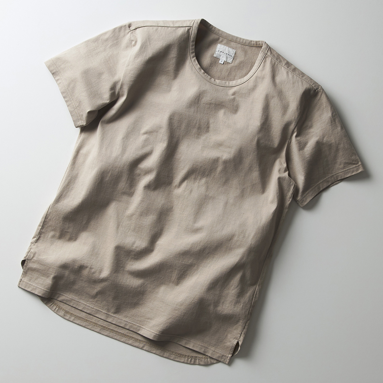 CURLY ELS SS CN TEE Tシャツ