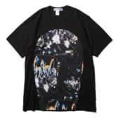 COMME-des-GARÇONS-SHIRT-cotton-jersey-plain-with-cotton-jersey-with-futura-print-BlackPrint-A_1-168x168