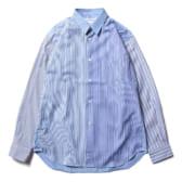 FOREVER-cotton-poplin-plain-SHIRT-Narrow-Classic-Stripe-Mix2-168x168