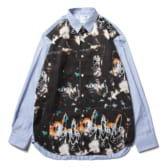 COMME-des-GARÇONS-SHIRT-yarn-dyed-cotton-poplin-stripe-with-Futura-print-Stripe-Print-A-168x168