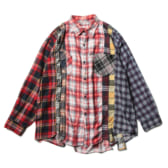Rebuild-by-Needles-Flannel-Shirt-7-Cuts-Shirt-Lサイズ_2-168x168