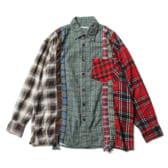 Rebuild-by-Needles-Flannel-Shirt-7-Cuts-Shirt-Mサイズ_2-168x168