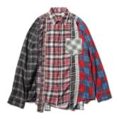 Rebuild-by-Needles-Flannel-Shirt-7-Cuts-Shirt-Sサイズ_3-168x168