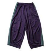 Needles-H.D.-Track-Pant-Poly-Smooth-Eggplant-ヒザデルパンツ-168x168