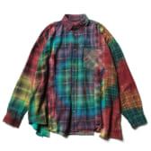 Rebuild-by-Needles-Flannel-Shirt-7-Cuts-Shirt-Tie-Dye-Wide-Fサイズ_2-168x168