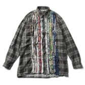Rebuild-by-Needles-Flannel-Shirt-Ribbon-Shirt-Lサイズ-168x168