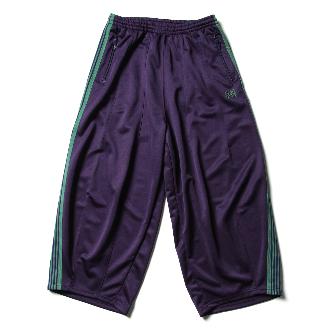 H.D. Track Pant - Poly Smooth - Eggplant