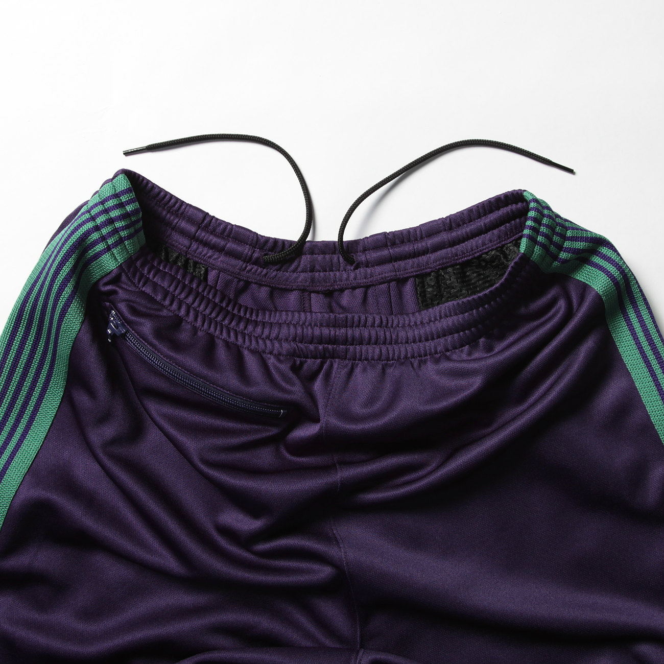 H.D. Track Pant - Poly Smooth - Eggplant ウエスト