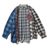 Rebuild by Needles - Flannel Shirt -> 7 Cuts Shirt - Sサイズ_2