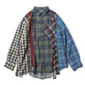 Rebuild-by-Needles-Flannel-Shirt-7-Cuts-Shirt-Lサイズ_1-168x168