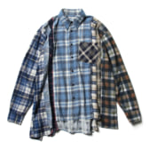 Rebuild-by-Needles-Flannel-Shirt-7-Cuts-Shirt-Mサイズ_1-168x168