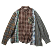 Rebuild-by-Needles-Flannel-Shirt-7-Cuts-Shirt-Wide-Fサイズ_1-168x168