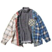 Rebuild-by-Needles-Flannel-Shirt-7-Cuts-Shirt-Wide-Fサイズ_5-168x168