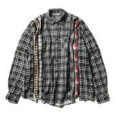 Rebuild-by-Needles-Flannel-Shirt-7-Cuts-Zipped-Shirt-Wide-Fサイズ_1-168x168