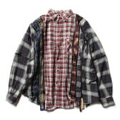 Rebuild-by-Needles-Flannel-Shirt-7-Cuts-Zipped-Shirt-Wide-Fサイズ_2-168x168