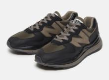 N.HOOLYWOOD-9211-SE03-pieces New Balance M5740NX - Black : Brown
