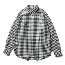 ....... RESEARCH   Animal Shirt / メリノウール - 動物刺繍 - Check