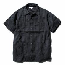 ENGINEERED GARMENTS / エンジニアドガーメンツ | Camp Shirt - Dobby St. - Dk.Grey