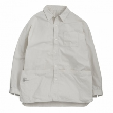 FreshService / フレッシュサービス | Tool Pocket Regular Collar Utility Shirt - Ivory