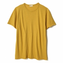 NAISSANCE / ネサーンス | COTTON SILK T-SHIRT - Yellow