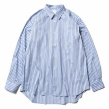 COMME des GARÇONS SHIRT / コム デ ギャルソン シャツ | yarn dyed cotton stripe poplin - Stripe 98