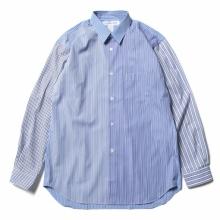 COMME des GARÇONS SHIRT / コム デ ギャルソン シャツ | cotton poplin plain - Stripe / Mix2_b
