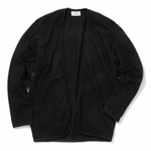 FLISTFIA / フリストフィア | Indigo Piping Cardigan - Black Indigo