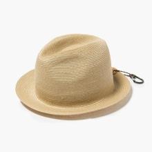 and wander / アンドワンダー | braid hat - Beige