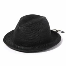 and wander / アンドワンダー | braid hat - Black