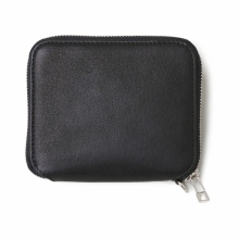 BEDWIN / ベドウィン | DEER SKIN WALLET 「LAURIE」 - Black