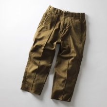 CURLY / カーリー | BRACE WD TROUSERS