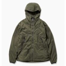 and wander / アンドワンダー | PERTEX wind jacket - Khaki